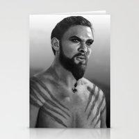 Khal Drogo Stationery Cards