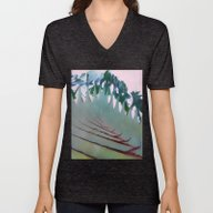 Unisex V-Neck featuring Palm Springs #society6 by 83oranges.com