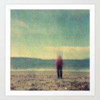 Long Exposure Experiment… Art Print