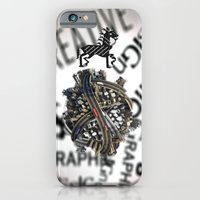 pixel iPhone & iPod Cases featuring Pixel by VERTIgO
