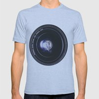 Good Vibes Mens Fitted Tee Athletic Blue SMALL