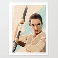 Rey Art Print