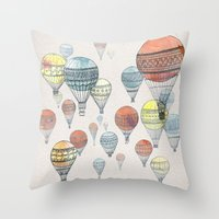 Voyages Throw Pillow