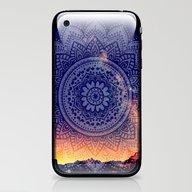 Night Mandala iPhone & iPod Skin