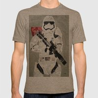 FIRST ORDER STORM TROOPER Mens Fitted Tee Tri-Coffee SMALL