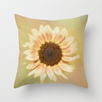 It's A Sunshine Day Throw Pillow