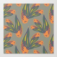 pina flower Canvas Print