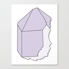 Amethyst Quartz Canvas Print