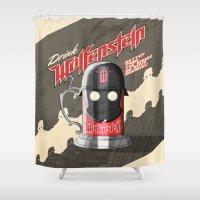 Drink Wolfenstein Shower Curtain