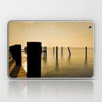 The Sunlit Dock Laptop & iPad Skin