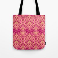 Simple Ogee Pink Tote Bag