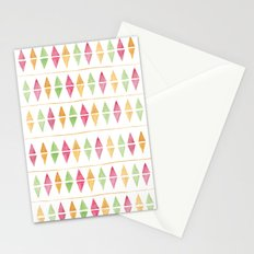 Watercolor Argyle Stationery Cards
