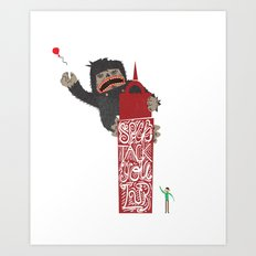 Speck Tack You Lur Deeds Art Print