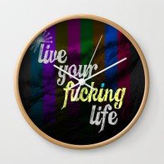 #YOLO Wall Clock