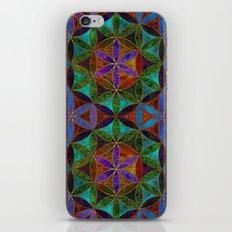The Flower of Life (Sacred Geometry) 2 iPhone & iPod Skin