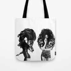 Lions And Bears Party Tote Bag