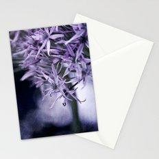 allium bokeh Stationery Cards
