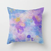 you are my lucky star Throw Pillow