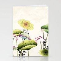 LIKE A FLOWER XLII Stationery Cards