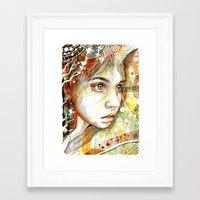 Focus In A World Of Madn… Framed Art Print
