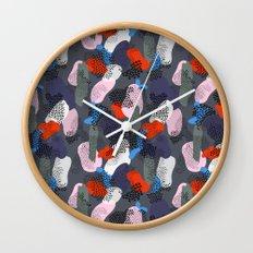 Midnight Stroll Wall Clock
