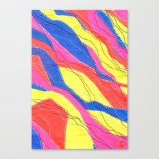 Untitled - Neon Canvas Print