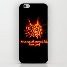 Majora's Mask Fire iPhone & iPod Skin