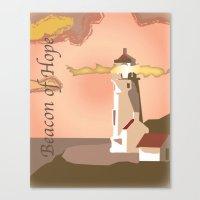 Beacon of Hope... Canvas Print