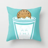 Hot Tub Cookie Throw Pillow