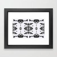 time mantle  Framed Art Print