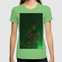 Lianne La Havas: Is your love big enough? Green Womens Fitted Tee Grass SMALL