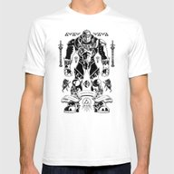 Legend Of Zelda Ganondor… Mens Fitted Tee White SMALL