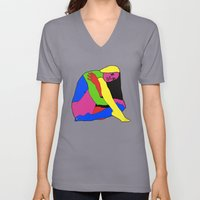 Boxed Gymnast Unisex V-Neck