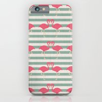 iPhone & iPod Case featuring Pink Kisses by basilique