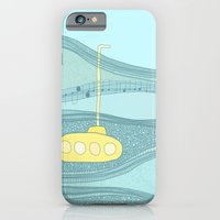 Yellow Submarine iPhone 6 Slim Case