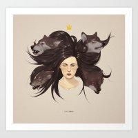 Los Lobos.  Art Print