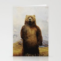 Beary Scared Stationery Cards