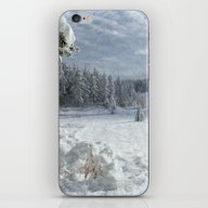 Scenery Forest Winter Wo… iPhone & iPod Skin