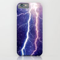 iPhone & iPod Case featuring Lightning - for iphone by Simone Morana Cyla