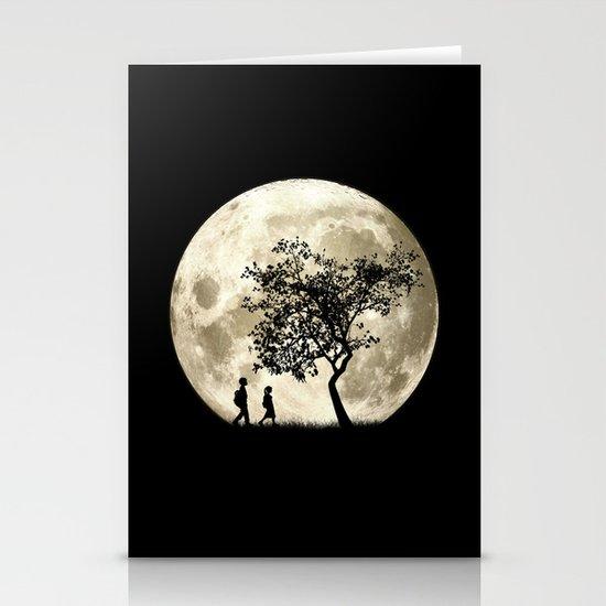 Full Moon Stationery Card
