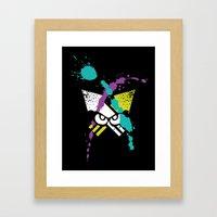 Splatoon - Turf Wars 3 Framed Art Print