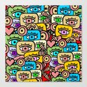 ALL EYES ON YOU Canvas Print