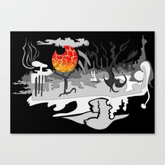 Dark Forest Canvas Print
