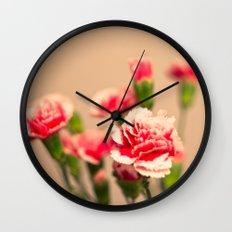 Carnation II Wall Clock
