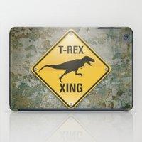 T-Rex Crossing iPad Case