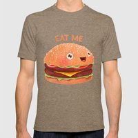 Burger Mens Fitted Tee Tri-Coffee SMALL
