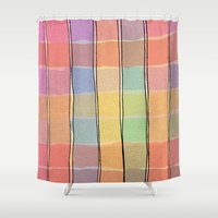 - the table - Shower Curtain