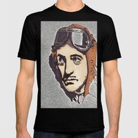 David Niven Mens Fitted Tee Black SMALL