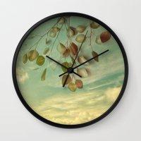 an impression of control Wall Clock