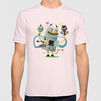 Promenade Mens Fitted Tee Light Pink SMALL